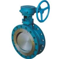 Wholesale CS SS Dual Eccentric Butterfly Valve / Double Offset Butterfly Valve from china suppliers