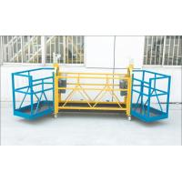 Wholesale Zlp630 Steel Special hanging scaffolding Working Platform / Gondola With Double Angle from china suppliers