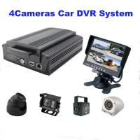 Wholesale 4Ch GPS WIFI Full AHD HD DVR car camera with 2TB HDD / SD Card , H.264 Compression from china suppliers