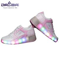 Wholesale Comfortable Lining Led Light Up Shoes Kids Roller Skate Shoes , Pink from china suppliers