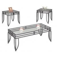Wholesale Living Room Modern Glass Bar Table , European Style Rectangular Dining Table from china suppliers