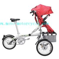 Wholesale Baby Stroller Bike Comfortable Design Iron / Plastic PU PVC Baby Tricycle from china suppliers