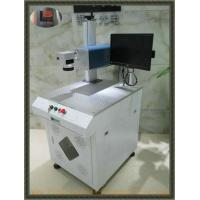 20w Fiber Jewellery Laser Marking Machine Single Color Apply To Plastic Bottle And Metal