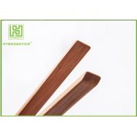 Wholesale Dark Wooden Kitchen Utensil Set Small  Ice Tea / Food / Barbecue / Pasta Tongs from china suppliers