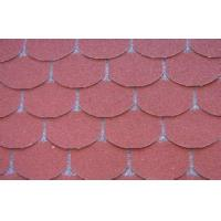 Wholesale Eco decorative Fish Scale Asphalt Roof Shingles , Light Weight roof tile from china suppliers