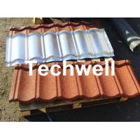 Wholesale Colorful Sand Coated Iron Roof Tile Production Line from china suppliers