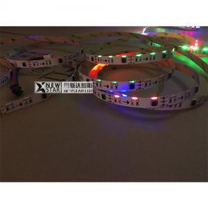 Quality 020 side view DC12V 60leds ws2811 020 rgb digital led strip programmable 335 emitting 020 strip for sale