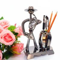 Wholesale best price pen holder classic music man home decoration from china suppliers