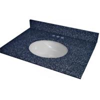 Wholesale Blue Pearl Granite bathroom vanitytops for bathroom from china suppliers