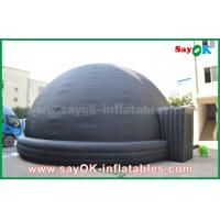 Wholesale Black Blow Up Inflatable Mobile Planetarium Dome Projection Tent With Air Blower from china suppliers
