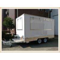 Buy cheap Australian Standard GRP Mobile Kitchen Concession Trailer mobile restaurant for sale from wholesalers