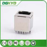 Wholesale 1X1 Vertical 180 degree top entry RJ45 LAN Jack  , Shieded from china suppliers