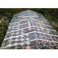 Wholesale Big Outdoor Luxury Wedding Party Tent / Clear Marquee Tent 3-50m Width from china suppliers