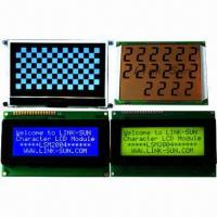 Quality LCD Modules, with LED and El Backlight for sale