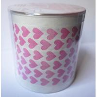 Wholesale Red Heart printed toilet paper roll with pvc tube from china suppliers