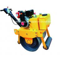 Wholesale Walk Behind Construction Machinery Single Drum Road Roller Of Concrete Tools from china suppliers