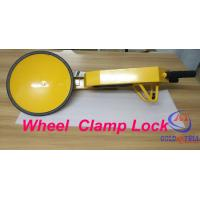Wholesale Popular under Shockproof car wheel lock for Government project , Custom Painting Logo from china suppliers