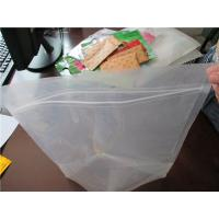 Wholesale Plastic Clear Stand Up Zipper Pouch Bags General Purpose Oxygen Resistance from china suppliers