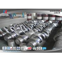 Wholesale Carbon Steel Accurate Crankshaft Forging Heat Treatment For Marine from china suppliers