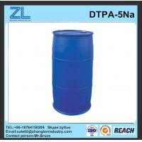 Wholesale light yellow DTPA-5Na liquid stabilizer from china suppliers