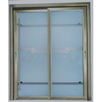 Wholesale Champagne, grey powder coated aluminum lift and slide doors wiht patterned glass from china suppliers