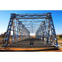 Wholesale Steel Frame Steel Truss Bridge Single lane For Ferry , Assembly from china suppliers