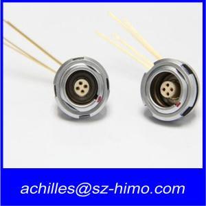 Wholesale ECG.0B.304 7 pin lemo right angle connector 90 degree pcb pin from china suppliers