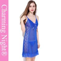 Quality Sexy Lace Mature Women Young Girls Sexy Chemise Lingerie Chemise Underwear for sale