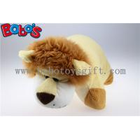 Wholesale Pillow Decorative Pillows in Plush Stuffed Lion Toy Shape from china suppliers