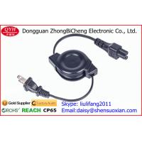 Wholesale Double Way Retractable Power Cord For AC Adapter And Laptop Charging from china suppliers