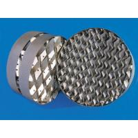 Wholesale Packed Tower Structured Packing,Metal Structured Tower Packings,Stainless Steel Fillers from china suppliers