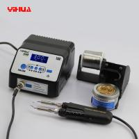 Wholesale YIHUA 938D 2 in 1 Anti-static Parallel Tweezers Soldering Station Automatic Shutdown Function from china suppliers