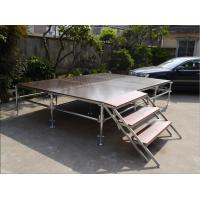 Wholesale Lightweight Unique Layer Aluminum Truss Stage Folding Heavy Load Capacity from china suppliers