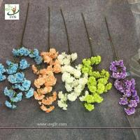 Wholesale UVG silk flower arrangement in artificial blossom tree branches wedding backdrops material CHR130 from china suppliers