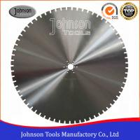 Quality OEM 1200mm Diamond Wall Saw Concrete Cutting Blades With Sharp Segments for sale