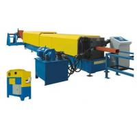 Wholesale 7.5Kw Hydraulic Automatic Cutting Panasonic Downspout Pipe Roll Forming Machine from china suppliers