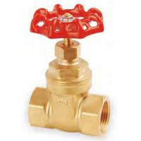 China Threaded 175Psi 1/2 OS & Y Brass Gate Valve For Oil / Gas / Water on sale