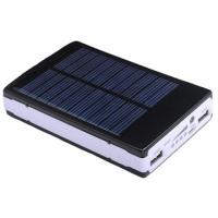 Wholesale Waterproof Solar 10400mAh Power Bank Dual Interface External Battery Pack from china suppliers