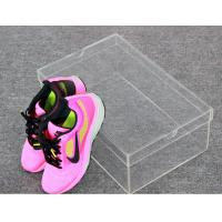 Wholesale Woman Shoes Storage Small Clear Acrylic Shoe Box Without Logo from china suppliers