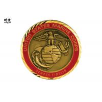 Wholesale Collectable Us Air Force Challenge Coins , Modern Commemorative Gold Coins from china suppliers