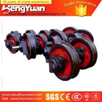Wholesale OEM provided overhead travelling forged trolley crane wheel from china suppliers