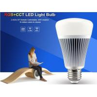 Buy cheap Milight Wifi IOS APP 8W RGB+CCT LED Bulb Light 2.4G RF All color RGB with CCT adjustable 3000k to 6000K bulb led light from wholesalers