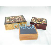 Wholesale Luxury Gifts Packaging Painted Wooden Boxes For Cigar , Watch , Jewellry from china suppliers