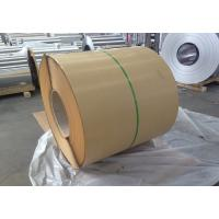 Wholesale 1100 1050 H14 Decorative Aluminum Sheet Metal With Kraft Paper / Embossed from china suppliers