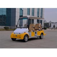 Wholesale 3.0KW Motor 6 Seater Electric Sightseeing Car For 6 Persons Pure Electric Power from china suppliers