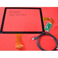 Wholesale High resolution 15 Inch 10 Point Capacitive Touch Screen monitor with USB / I2C from china suppliers