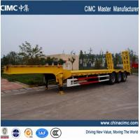 Wholesale lowboy semi trailer from china suppliers