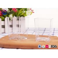 Wholesale Wedding Plastic Square Cups Environmental Protection 0.9mm Thickness from china suppliers