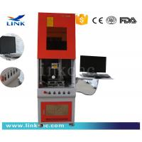 Quality CNC Mobile Watch Phones Fiber Laser Marking Machine 20KHz ~ 100KHz for sale