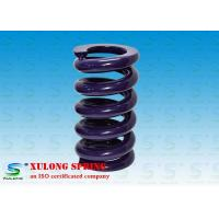 Wholesale Purple Powder Coated Heavy Machinery Springs / Engineering Springs Compression from china suppliers